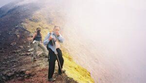 Volcano Pacaya---