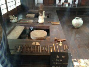 Kawai Kanjiro, potter's wheel